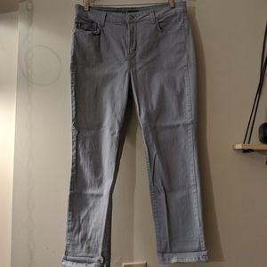 Ankle Length Grey Jeans